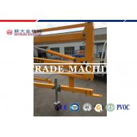 Quality Skyscraping Tower 6-17m Trailer Mounted BoomLift / Tow Behind Towable Boom Lift for sale