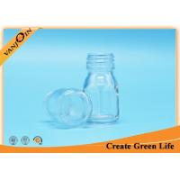 Wholesale 30ml Clear Essential Oil Bottles , Glass Sirop Bottle With Cap from china suppliers