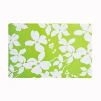 Wholesale Green And White Pp Fabric Placemats Protect The Table From Water Marks from china suppliers