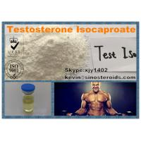 Wholesale Testosterone Isocaproate Steroid White Raw Powder Test Iso For Gaining Strength from china suppliers