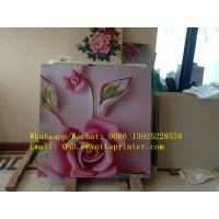 Quality Digital uv Flatbed printing machine for 3d ceramic tiles for sale