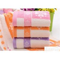 Wholesale Fashionable Home Spa Towel Dye Yarn , Face Wash Cloths Durable from china suppliers