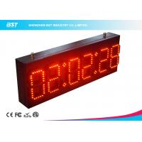 Wholesale Ultra Thin Wall Digital Led Clock Display / Red Led Wall Clock from china suppliers