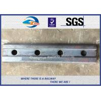 Wholesale High Quality Railway Fishplate for BS100A Rail standard Joint bar 50# 4 holes from china suppliers