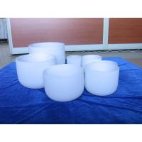 Wholesale Arts and Crafts frosted singing bowl one set from 6inch to 12inch from china suppliers