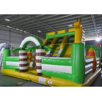 Buy cheap PVC Animal Bouncy Castle Inflatable China Castle Bed Giant Inflatable Kids Slide from wholesalers