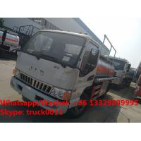 Wholesale 2018s high quality and best price JAC brand diesel transporting vehicle for sale, Factory sale cheaper oil tank truck from china suppliers