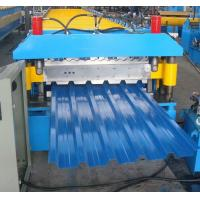 Wholesale Blue High Speed Roof Panel Roll Forming Machine 7.5kw Hydraulic from china suppliers