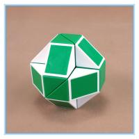 Wholesale Magic Ruler Cube Twist Snake green Folding Toy from china suppliers