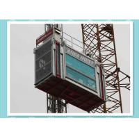 Wholesale Heavy Load Capacity Man And Material Hoist , High Speed Construction Hoist from china suppliers