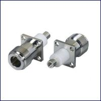 Buy cheap High quality straight flange rf coaxial N connectors with cable from wholesalers