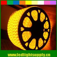 Wholesale 5050 AC strip lights 220V yellow emitting 60LED/M from china suppliers