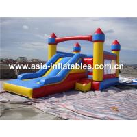 Wholesale Colorful Commercial Inflatable Combo Inflatable with slide from china suppliers