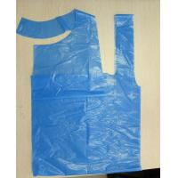 Buy cheap polythene plastic pe apron for kitchen household plastic apron from wholesalers