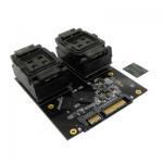 Wholesale wl programmer BGA152 BGA132 to DIP48 programming adapter SATA HDD test socket from china suppliers