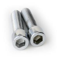 China Professional CNC Thread Cutting Parts with Galvanised / Black Passivation on sale