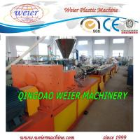 Wholesale Conical Twin Screw Extruder PVC Pipe Extrusion Line With High Output from china suppliers