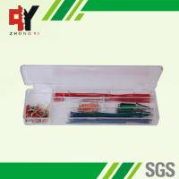 Wholesale Pre - Cut 140 Strips Breadboard Jumper Cables Box With Copper Clad Aluminum Conductor from china suppliers