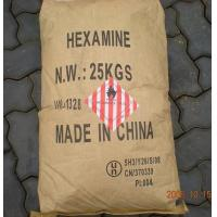 Wholesale Hexamethylenetetramine white crystal Plastic Auxiliary Agents ,  ingredient in fuel tablets from china suppliers