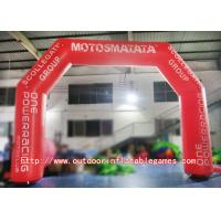 Wholesale Colorful Inflatable Christmas Arch , Inflatable Start Finish Arch For Party / Club from china suppliers