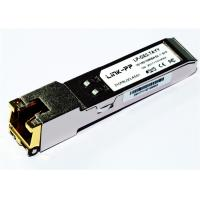 Wholesale Rj45 Copper SFP 10/100/1000 BASE-T SGMII -40°C to +85°C Industrial Temp 1.25 Gigabit Ethernet from china suppliers