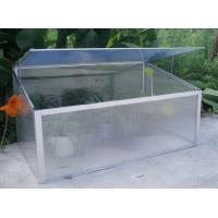 Wholesale Indoor Single Cold Frame Mini Greenhouse / Aluminum Garden Mini Greenhouse For Nursery from china suppliers