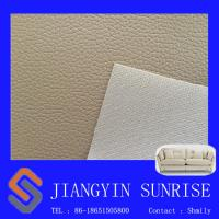 Wholesale 0.7mm Sofa Synthetic Leather For Furniture Upholstery / Soft Chair Pvc Leather Fabric from china suppliers