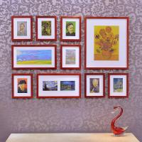 Wholesale Eco-friendly Solid Wood Frame Creative Photo Wall 10 Picture Frames Manufacturer from china suppliers