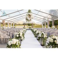 Buy cheap Luxury Wedding Event Structure Outdoor Transparent Roof Fabric Tent Canopy from wholesalers
