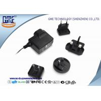 Wholesale Interchangeable 5V 1A AC DC Power Adapter CE CB GS UL FCC PSE ROHS RCM from china suppliers