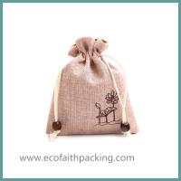 Wholesale jute jewelry bag jute jewelry pouch from china suppliers
