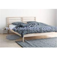 Wholesale Traditional Wood Frame Bed Queen Size With Slatted Bed Base OEM Avaliable from china suppliers