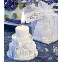 Wholesale 2013 Wedding Cake Candles Favor from china suppliers