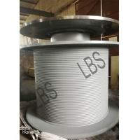 Wholesale Steel LBS Grooved Drum with Brake Disc for Tower Crane/Large Winch Drum from china suppliers