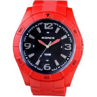 Quality Sport plastic  Mens round analog watches Japan movement 10ATM water resistant for sale