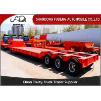 Wholesale 120 / 100 Tons Heavy Equipment Trailers 3 Lines 6 Axles Mechanical Ladder from china suppliers
