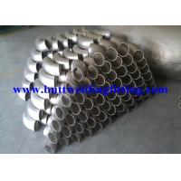 Wholesale L / SR Stainless Steel Tubing Elbows Inconel 625 180 Degree Elbow from china suppliers