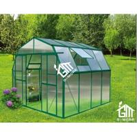 China Aluminum Greenhouse-Barn-L series-253X253X220CM-Green Color on sale