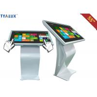 Wholesale High brightness Standing Advertising Player / 55 inch touch screen kiosk from china suppliers