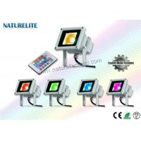 Wholesale Industrial Plants 10W Led Flood Light ,  Led Light Flood Light 80 lm / W COB  RGB from china suppliers