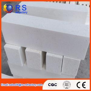Wholesale High Purity Corundum Brick , Lower Porosity White Fire Insulation Bricks from china suppliers