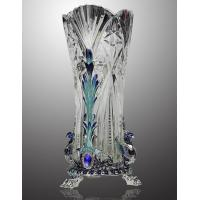 Wholesale high quality enamel home decoration  crystal vase from china suppliers