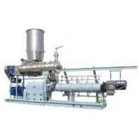 Wholesale 1000kg/h twin screw extruder Jordan  floating fish feed machine price from china suppliers