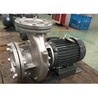 Wholesale Single Stage End Suction Centrifugal Pump , Single Suction Close Coupled Centrifugal Pump from china suppliers