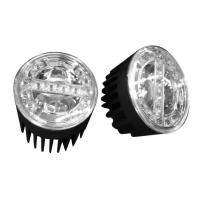 Wholesale Brightness Round 90mm LED Fog Light For trucks / Cars / Motorcycles from china suppliers