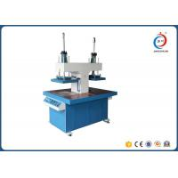 Wholesale Dual Tray Automatic Heat Press Machine Fabric Embossing Dispensing from china suppliers