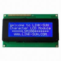 Wholesale Character LCD Module 20 Charactes 4 Line with Bule Negative STN Mode from china suppliers