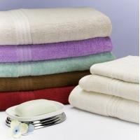 Wholesale Environmentally Friendly Cotton Bamboo Towels , Jacquard Bamboo Bath Towels from china suppliers