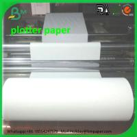Wholesale Hot sale 420mm CAD Plotter Paper for Garment factory rolls 80gsm from china suppliers