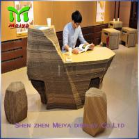 Wholesale Supermarket Recycled Cardboard Furniture , cardboard office furniture couch from china suppliers